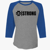 ICA Strong - 6051 Next Level Unisex Tri-Blend 3/4-Sleeve Raglan