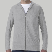 6759-Anvil Tri-Blend Light Weight Full Zip Jacket