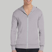 3939-Bella Canvas Lightweight Tri-blend Full-Zip Hoodie