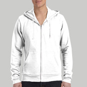 3739-Bella Canvas Unisex Poly-Cotton Fleece Full-Zip Hoodie