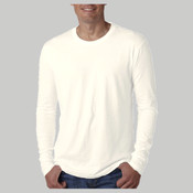 3601-Next Level Men's Premium Cotton Fitted Long-Sleeve Crew