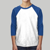 3352-Next Level Youth CVC 3/4-Sleeve Raglan