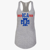 DEDICATED  - 1533 - Next Level The Ideal Racerback Tank