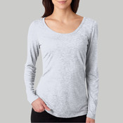 6731-Next Level Tri-Blend Long-Sleeve Scoop