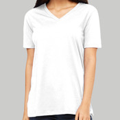 6405 - Bella Canvas Ladies' Relaxed Jersey Short-Sleeve V-Neck T-Shirt